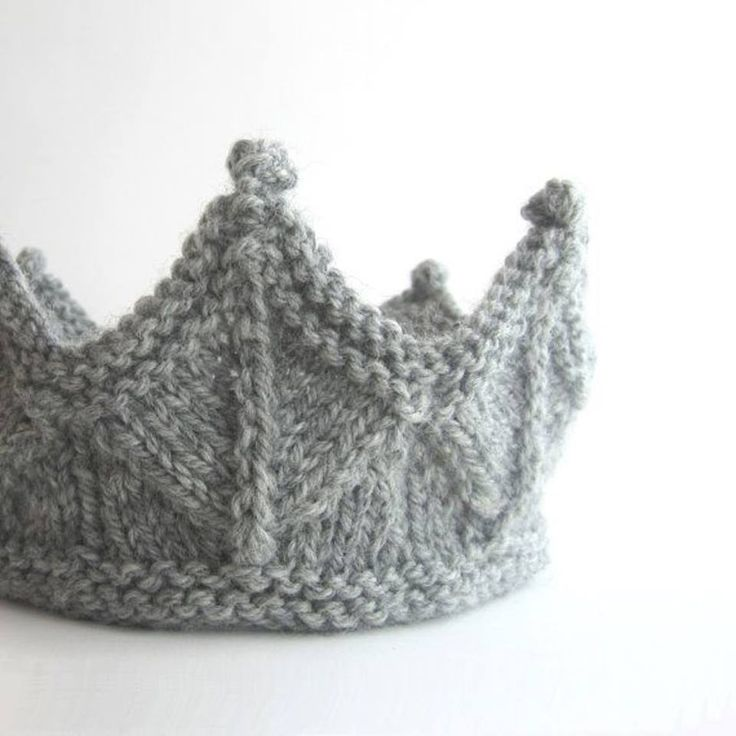 fbc2f98158d Free knitting pattern for a Crown and more fun hat knitting patterns