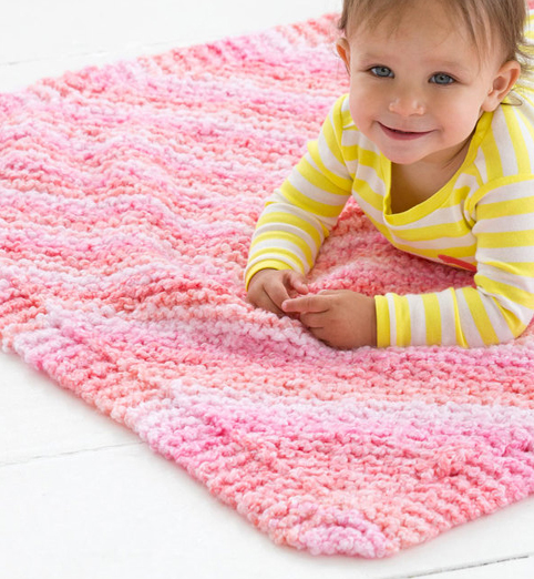Free Knitting Pattern for Cuddle Bug Blanket