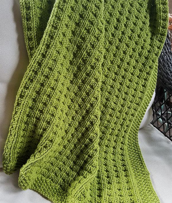 a8a9d12edb81 4 Row Repeat Baby Blanket Knitting Patterns- In the Loop Knitting