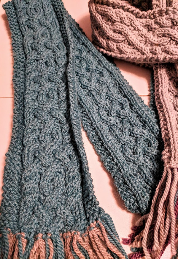 Free until July 31, 2018 Knitting Pattern for Cunning Cables Scarf