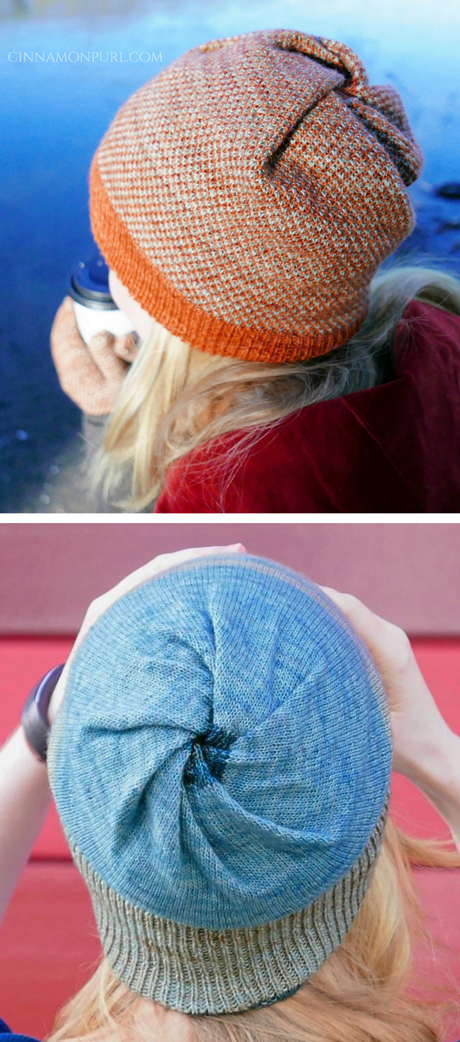 Free Knitting Pattern for Cyclone Hat