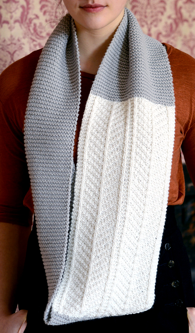 Knitting Pattern for Dagny Cowl