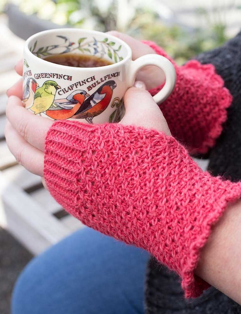 Daisy Stitch And Star Stitch Knitting Patterns In The Loop Knitting