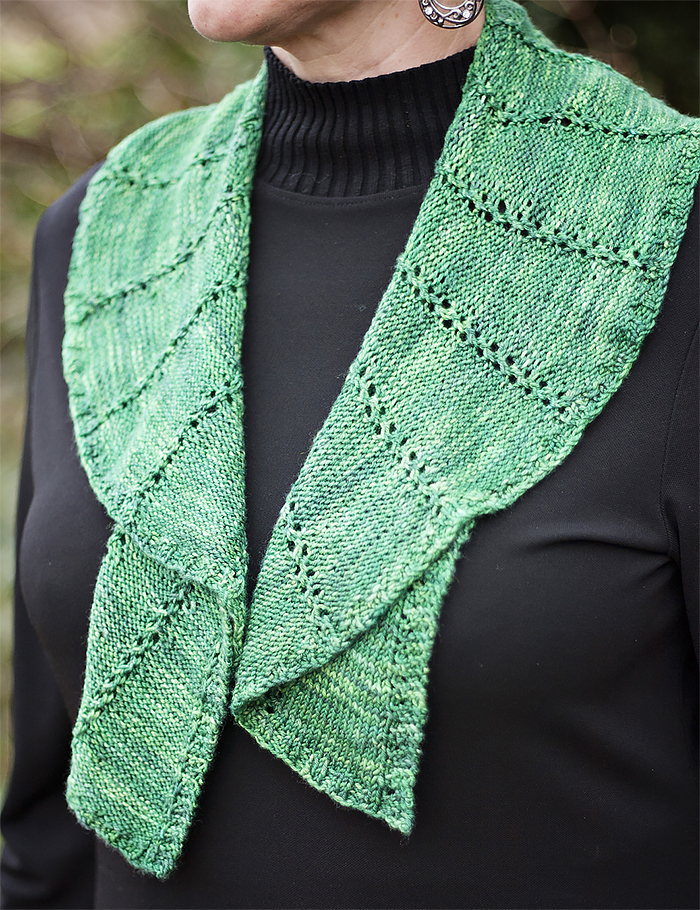 Knitting Pattern for Damariscotta Scarf