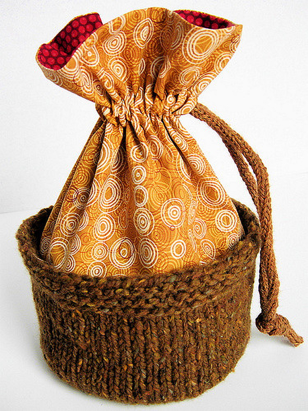 Free Knit and Sew Pattern for Dante's Purse