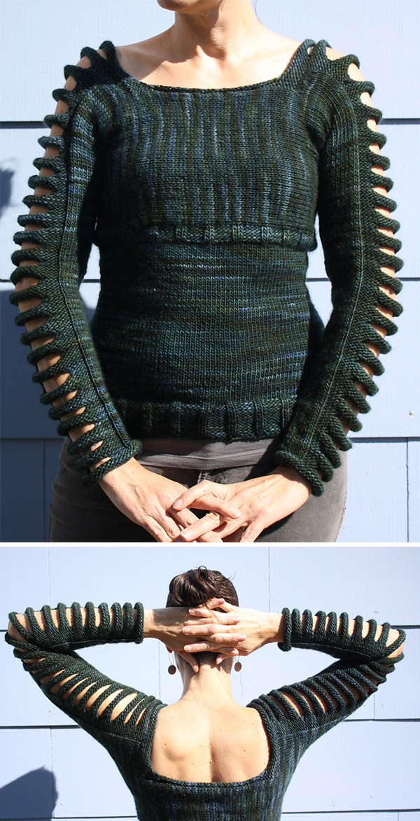 Free Knitting Pattern for Day Dreams Pullover