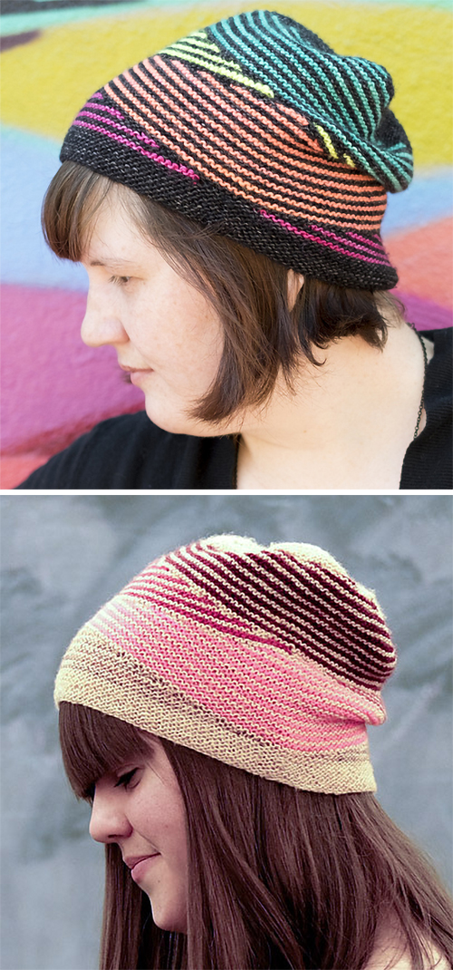 Knitting Pattern for Dazzle Hat