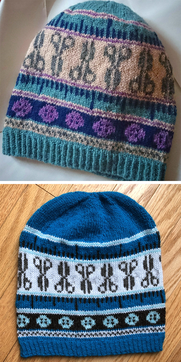 Free Knitting Pattern for The Maker's Hat