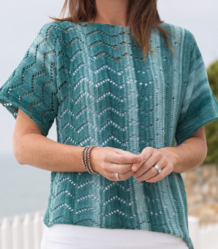 Knitting Pattern for Desert Sands Tee