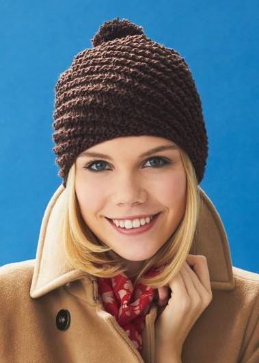 Pom Pom or Bobble Hats Knitting Patterns- In the Loop Knitting b8d3d5b1124