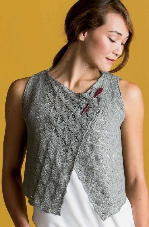 Knitting Pattern for Die Cut Vest