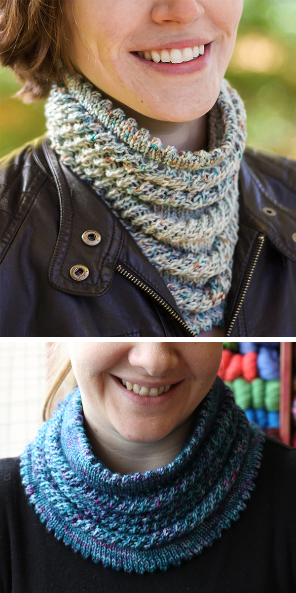 Free until March 26, 2019 Knitting Pattern for Willow Cowl