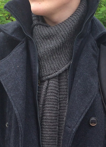 Free Knitting Pattern Doctor Who Scarf worn by Eleventh Doctor Matt Smith in the Snowmen episode