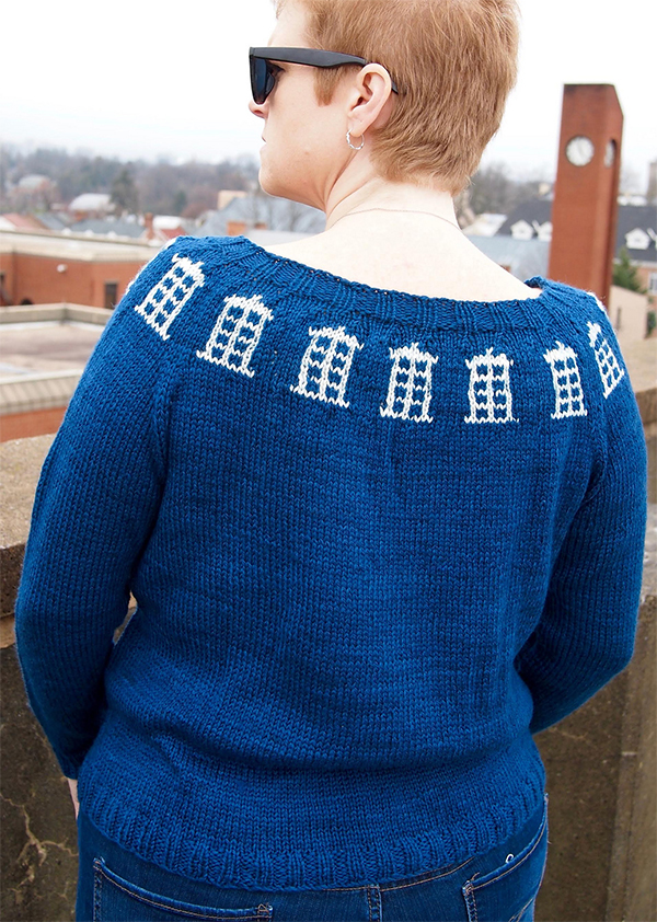 Knitting Pattern for The Doctor's Wife Sweater
