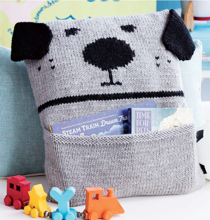 Knitting Pattern for Bow-Wow and Meow-Meow Pillows