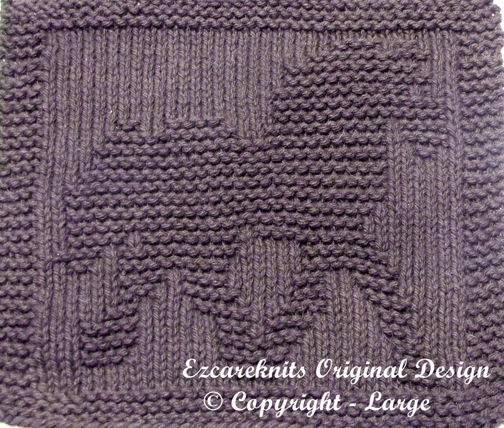 Knitting Pattern for Draft Horse Cloth