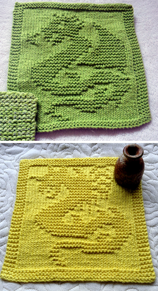 Free Knitting Pattern for Dragon and Dragon II Cloths