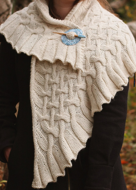 Knitting Pattern for Drift Shawl