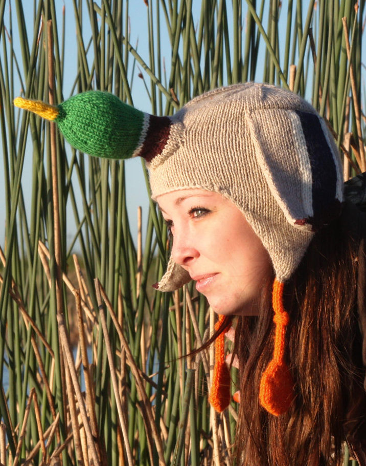 Knitting Pattern for Duck Hat