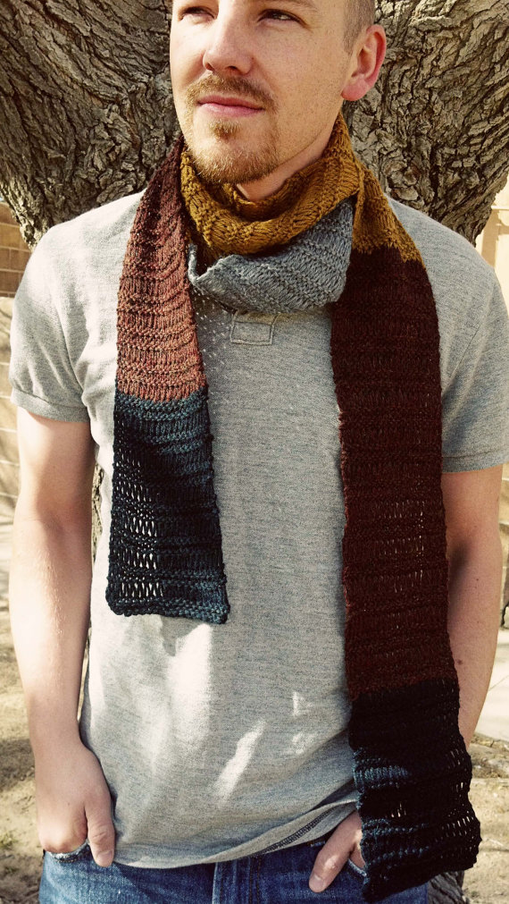 Knitting pattern for Dwarven Scarf