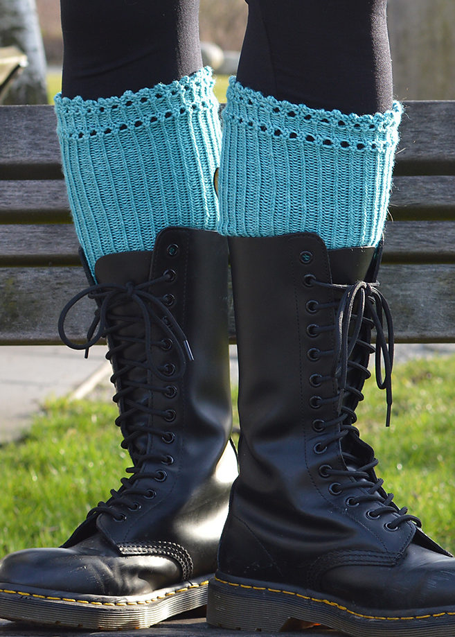 Free Knitting Pattern for East Van Doc Toppers