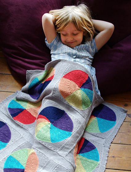 Easy As Pie Blanket By Ann Richardson - Free Knitted Pattern - (ravelry)