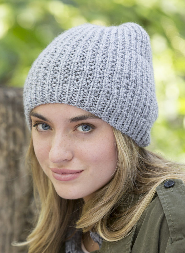 Free Knitting Pattern for Easy Fit Beanie