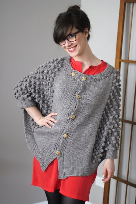 Knitting Pattern for El Matador Cape