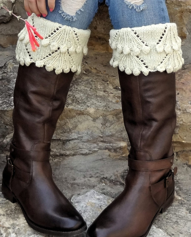 Knitting Pattern for Eleanor Boot Toppers
