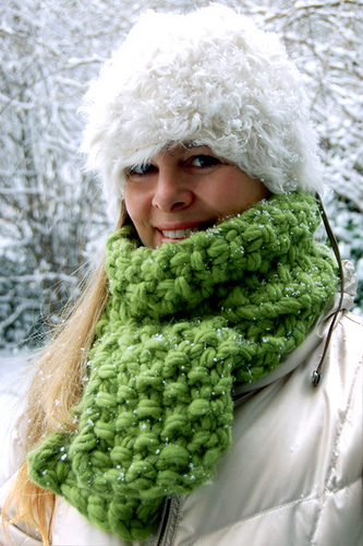 Free knitting pattern for Eleventh Hour Scarf and more weekend knitting patterns