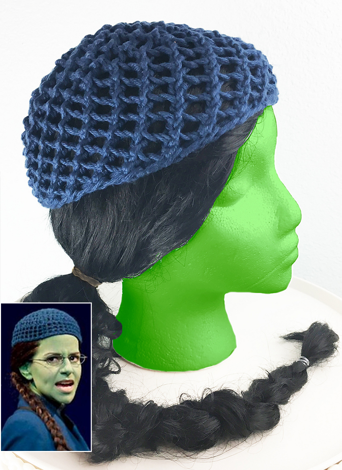 Free Knitting Pattern for 2 Row Repeat Elphabulous Hat
