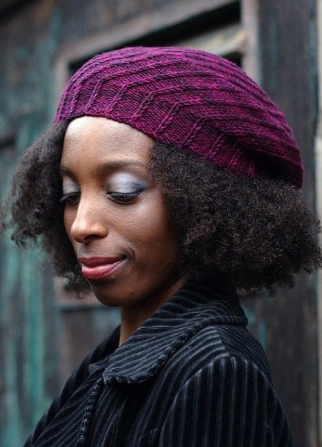 Knitting pattern for Elsica Beret
