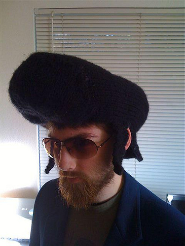 Elvis Wig Hat Free Knitting Pattern and more fun hat knitting patterns