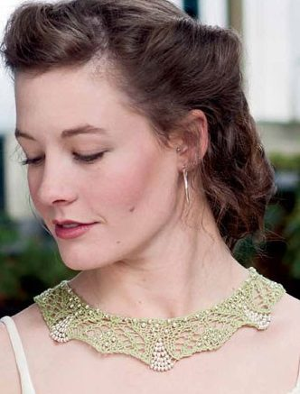 Knitting Pattern for Endira Necklace