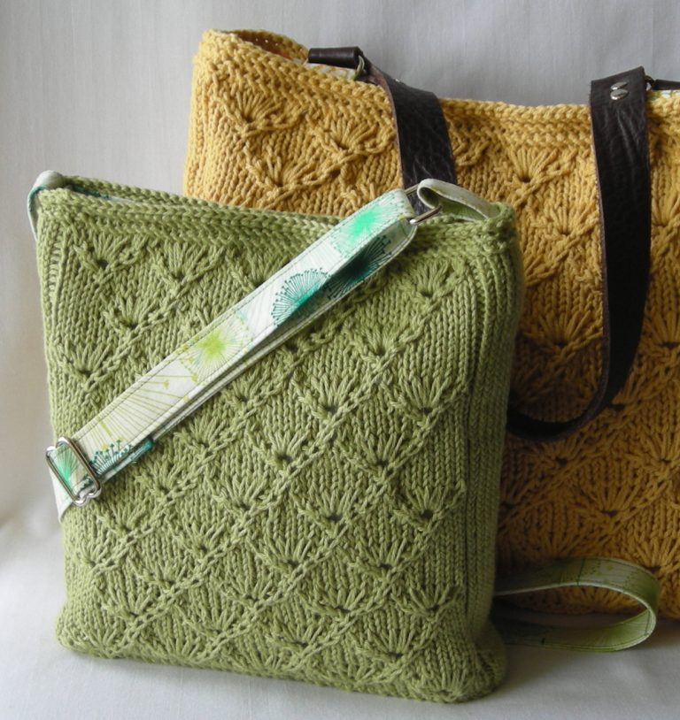 Knitting Pattern for Espalier Purse