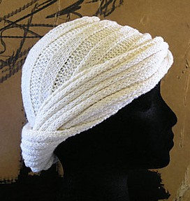 Esprit Turban Free Knitting Pattern