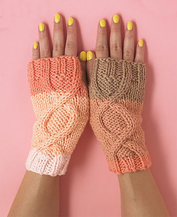 Free Knitting Pattern for Essential Wristwarmers