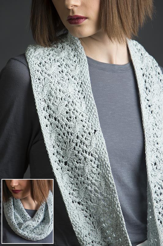 Free Knitting Pattern for Estee Refinded Cowl