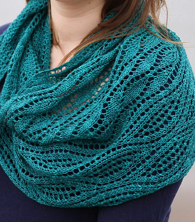 Free Knitting Pattern for Estuary Shawl