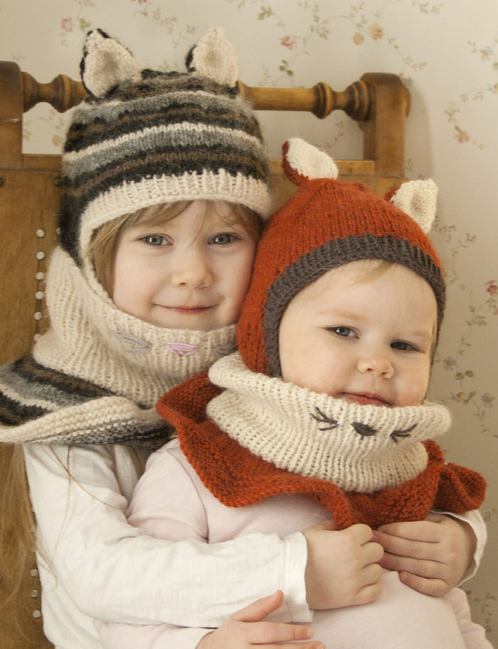 Free Knitting Pattern for Evan Hat With Cowl