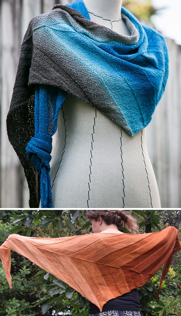 Knitting Pattern for Everyday Shawl