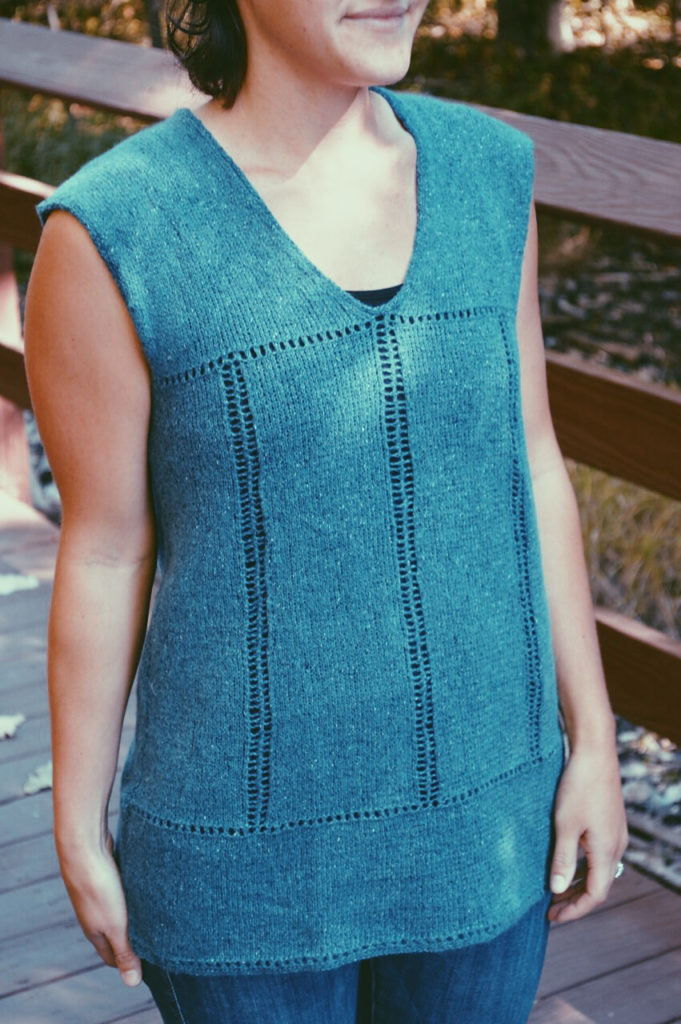 Knitting Pattern for Easy Everyday Tunic