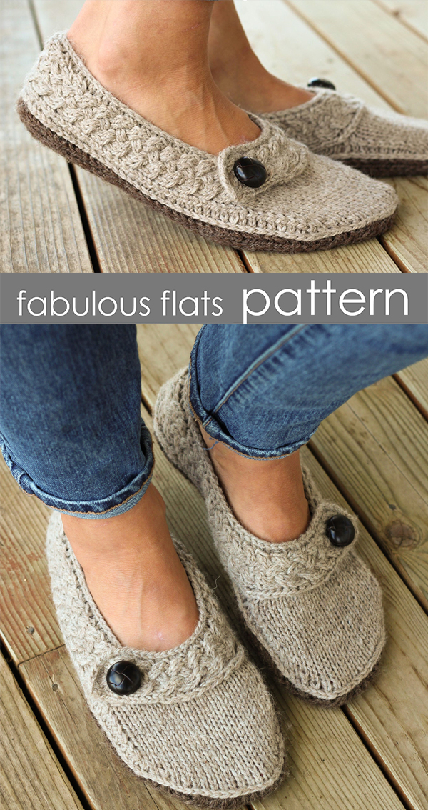 49ca0fb0e8a45 Slipper Knitting Patterns - In the Loop Knitting