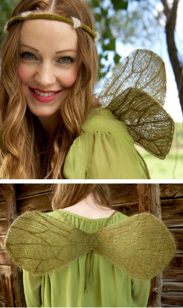 Knitting Pattern for Fairy Wings