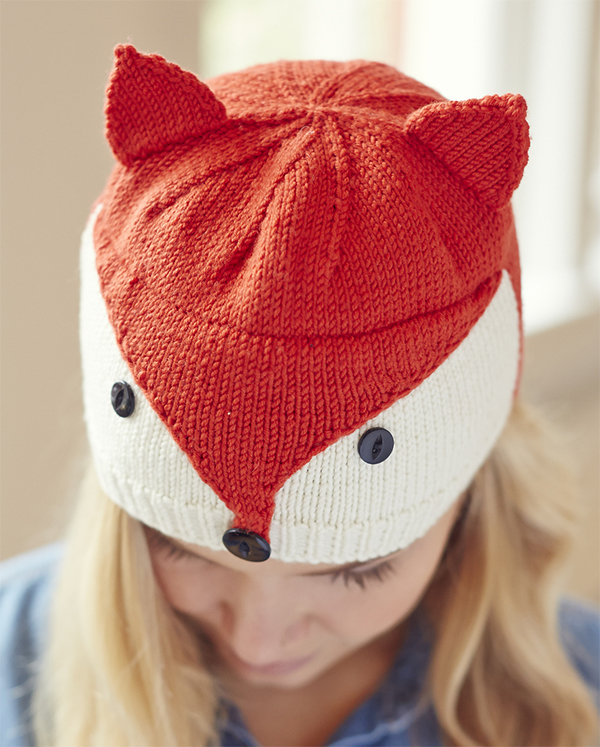 Knitting Pattern for Fantastical Fox Hat