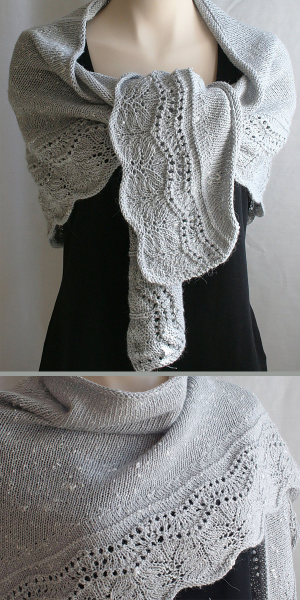 Knitting Pattern for Farniente Shawl