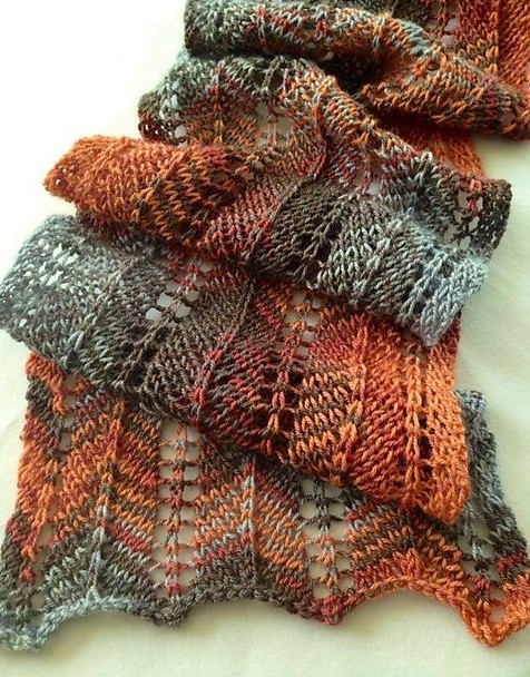 Free knitting pattern for Favorite Scarf Ever