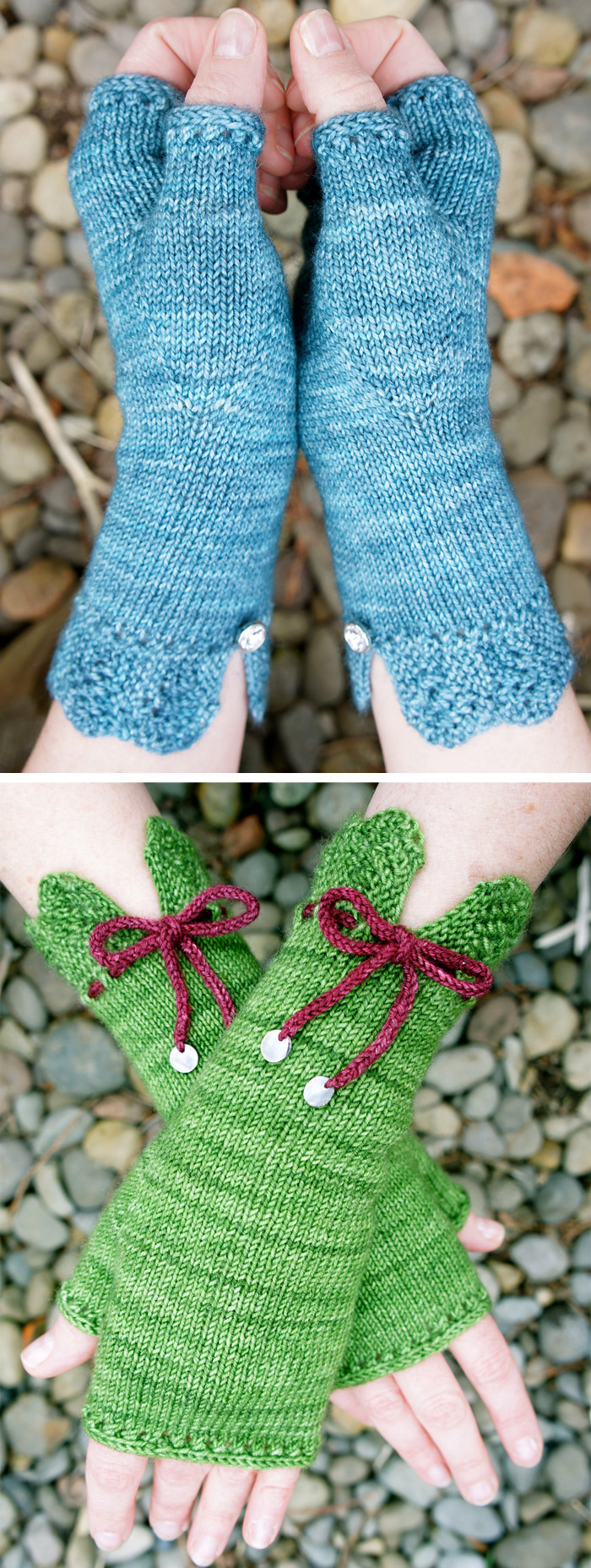 Free Knitting Pattern for Felicity Mitts