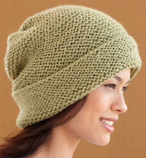 Free Slouchy Hat Knitting Pattern