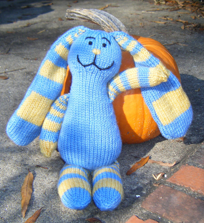 Knitting Pattern for Fibonacci Bunny